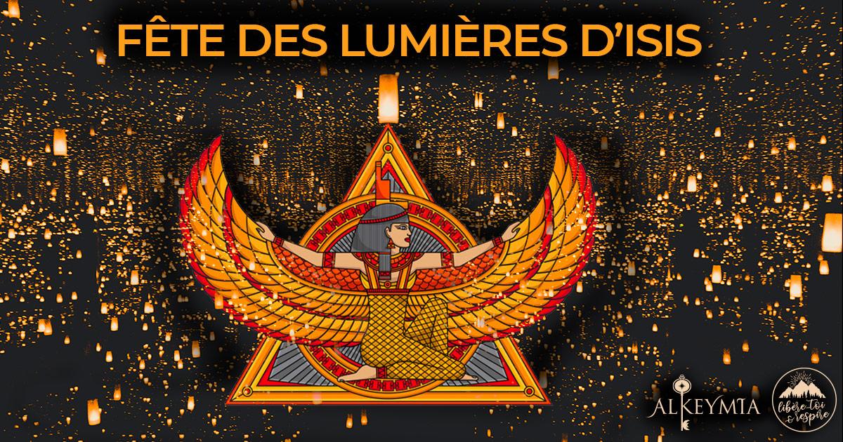 Fête des Lumières d'Isis le 12/08/20