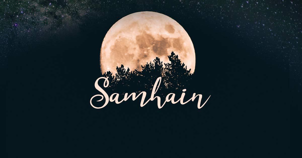 SAMHAIN, Nouvel-An des Sorcières le 01/11/20